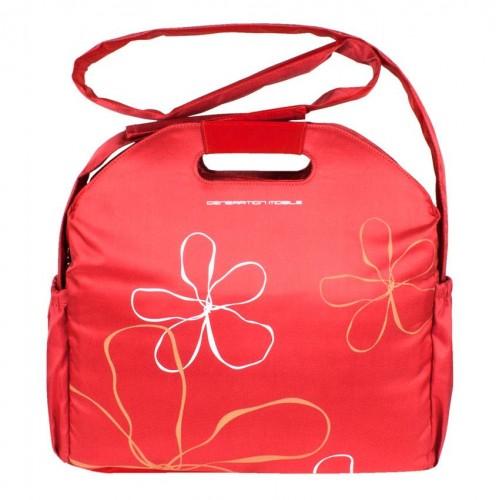 Сумка для ноутбука Dasfour Laptop Flowers 37x36x8 см Красный