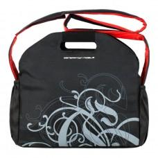 Сумка для ноутбука Dasfour Laptop Flowers 37x36x8 см Черный