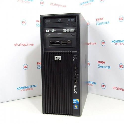 HP Z200 TOWER | I5-660 | 8GB DDR3 | 500GB HDD | 120GB SSD | GTX 750 TI, 2GB